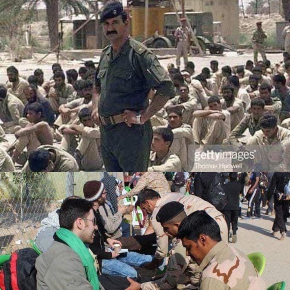 محمد العرب ينشر صورة لضابط عراقي ويحذر اليمنيين أخبار أخرى صحافة
