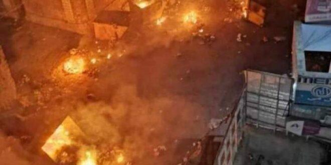"""شاهد .. ماذا كشف اقتحام المواطنين المحتجين مقرات """"الانتقالي"""" في عدن ومثل صدمة كبرى (صور)"""