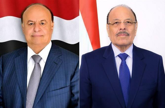 ورد للتو : أول تعليق للرئيس هادي ونائبه على وفاة البروفيسور